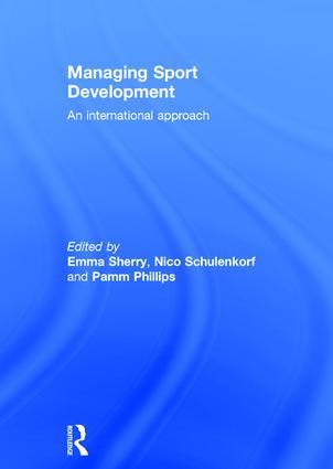 Managing Sport Development: An international approach book cover