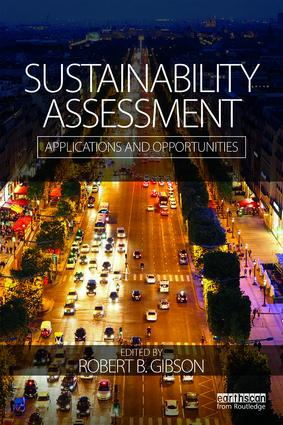 Sustainability Assessment: Applications and opportunities book cover