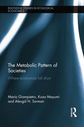 The Metabolic Pattern of Societies: Where Economists Fall Short book cover