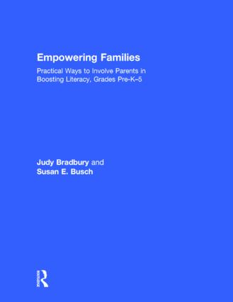 Empowering Families: Practical Ways to Involve Parents in Boosting Literacy, Grades Pre-K–5 (Hardback) book cover