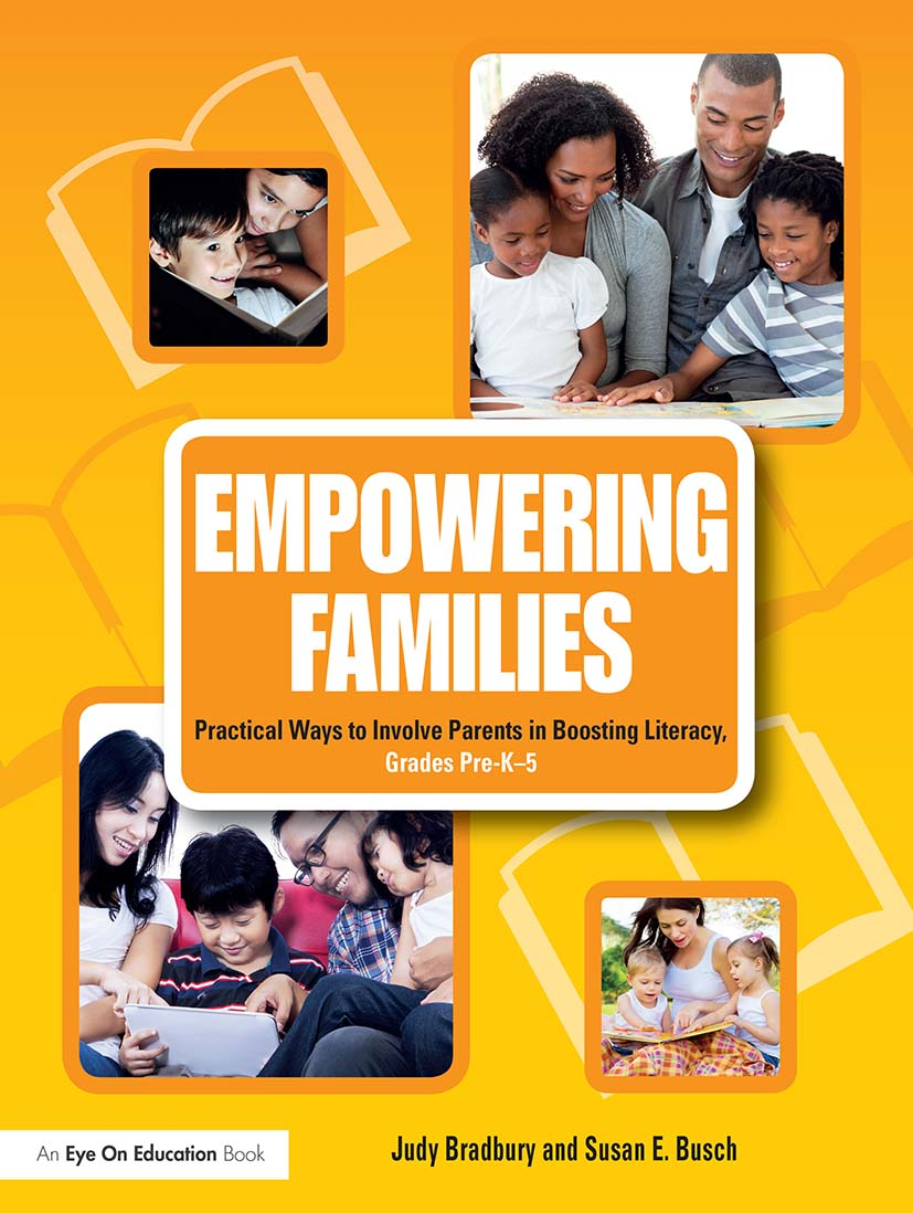 Empowering Families: Practical Ways to Involve Parents in Boosting Literacy, Grades Pre-K–5 book cover