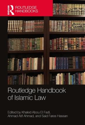 Routledge Handbook of Islamic Law: 1st Edition (Hardback) book cover