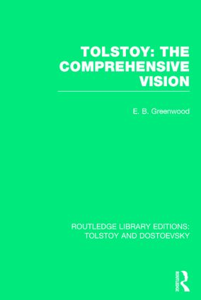Tolstoy: The Comprehensive Vision book cover