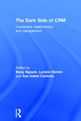 The Dark Side of CRM: Customers, Relationships and Management, 1st Edition (Hardback) book cover