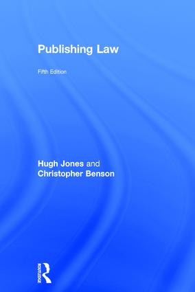 Publishing Law: 5th Edition (Hardback) book cover