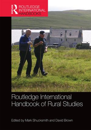 Routledge International Handbook of Rural Studies book cover