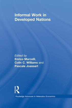 Informal Work in Developed Nations book cover