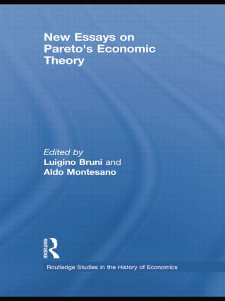New Essays on Pareto's Economic Theory book cover