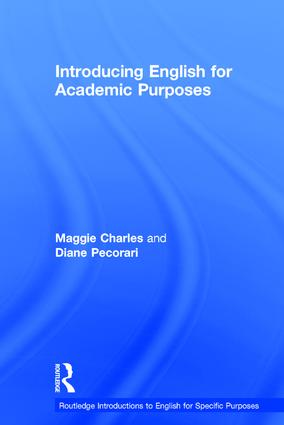 Introducing English for Academic Purposes: 1st Edition (Hardback) book cover