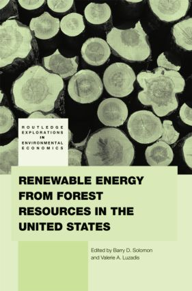 Renewable Energy from Forest Resources in the United States: 1st Edition (e-Book) book cover