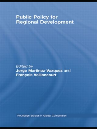 Public Policy for Regional Development (Paperback) book cover