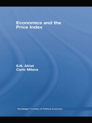 Economics and the Price Index (Paperback) book cover