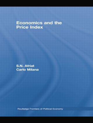 Economics and the Price Index: 1st Edition (e-Book) book cover