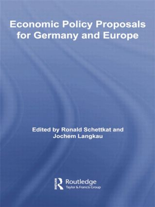 Economic Policy Proposals for Germany and Europe book cover