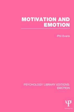 Motivation and Emotion book cover