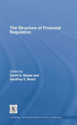 The Structure of Financial Regulation book cover