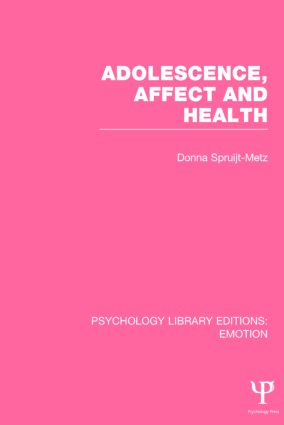 Adolescence, Affect and Health book cover