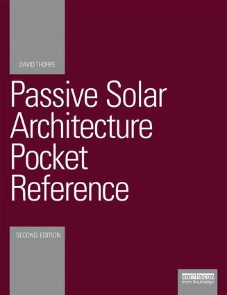 Passive Solar Architecture Pocket Reference: 2nd Edition (Paperback) book cover