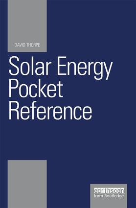 Solar Energy Pocket Reference (Paperback) book cover