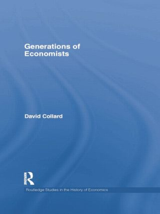 Generations of Economists: 1st Edition (Paperback) book cover