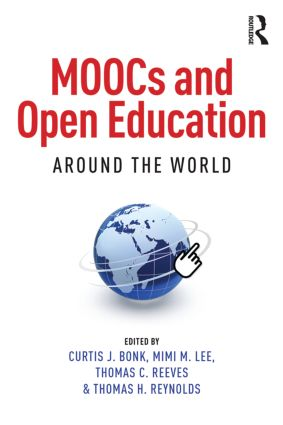 MOOCs and Open Education Around the World (Paperback) book cover