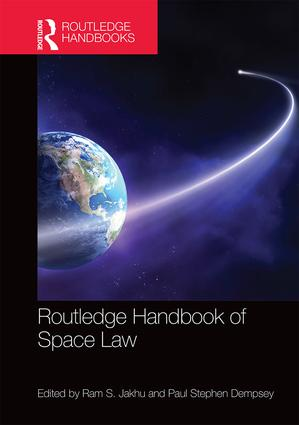 Routledge Handbook of Space Law book cover