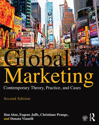 Global Marketing: Contemporary Theory, Practice, and Cases book cover