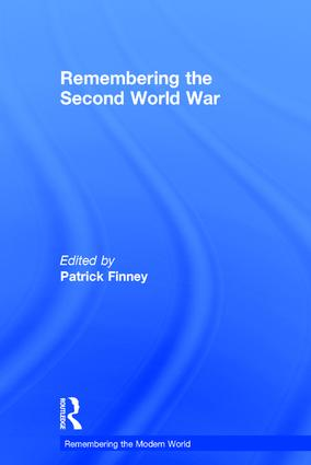 Remembering the Second World War book cover