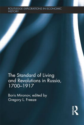 The Standard of Living and Revolutions in Imperial Russia, 1700-1917 book cover