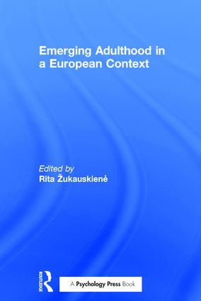 Emerging Adulthood in a European Context: 1st Edition (Hardback) book cover