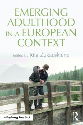 Emerging Adulthood in a European Context (Paperback) book cover