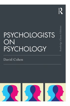 Psychologists on Psychology (Classic Edition): 1st Edition (Paperback) book cover