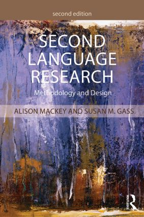 Second Language Research: Methodology and Design book cover