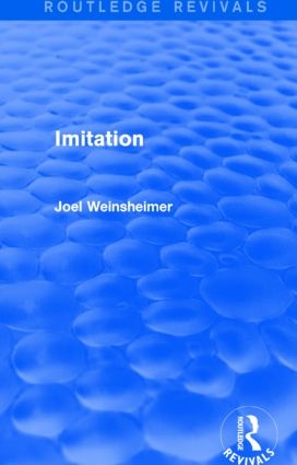 Imitation (Routledge Revivals): 1st Edition (Paperback) book cover