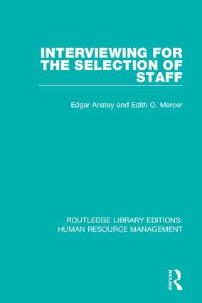 Routledge Library Editions: Human Resource Management: 1st Edition (Hardback) book cover