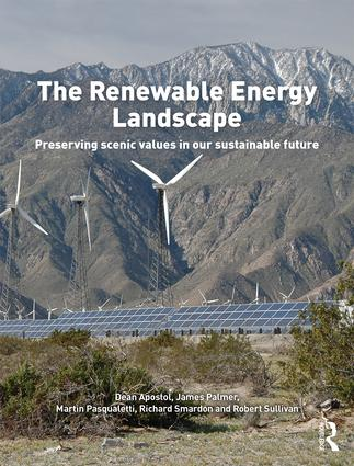 The Renewable Energy Landscape: Preserving Scenic Values in our Sustainable Future book cover