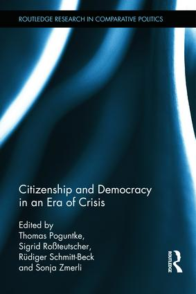 Citizenship and Democracy in an Era of Crisis: Essays in honour of Jan W. van Deth (e-Book) book cover