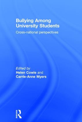 Bullying Among University Students: Cross-national perspectives, 1st Edition (Hardback) book cover