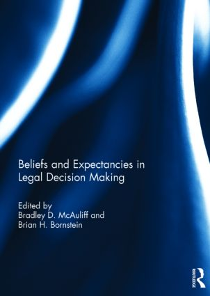 Beliefs and Expectancies in Legal Decision Making: 1st Edition (Hardback) book cover