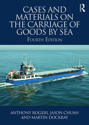 Cases and Materials on the Carriage of Goods by Sea book cover