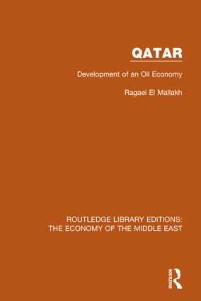 Qatar (RLE Economy of Middle East): Development of an Oil Economy book cover