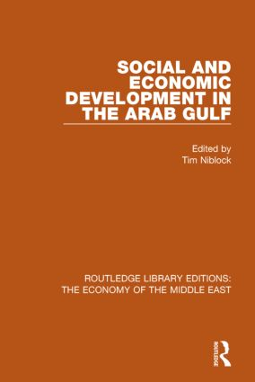 Social and Economic Development in the Arab Gulf (RLE Economy of Middle East) book cover