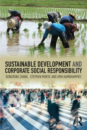 Sustainable Development and Corporate Social Responsibility (Paperback) book cover