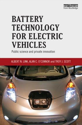 Battery Technology for Electric Vehicles: Public science and private innovation, 1st Edition (Hardback) book cover