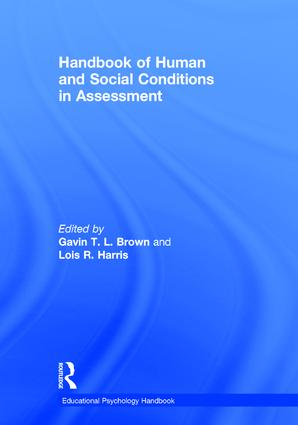 Handbook of Human and Social Conditions in Assessment: 1st Edition (Hardback) book cover