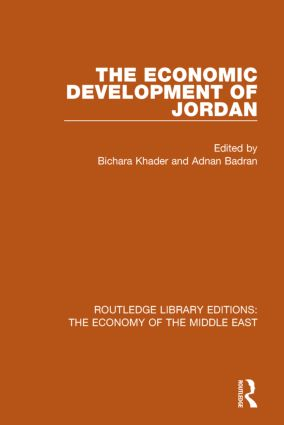 The Economic Development of Jordan (RLE Economy of Middle East) book cover