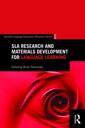 SLA Research and Materials Development for Language Learning (Paperback) book cover
