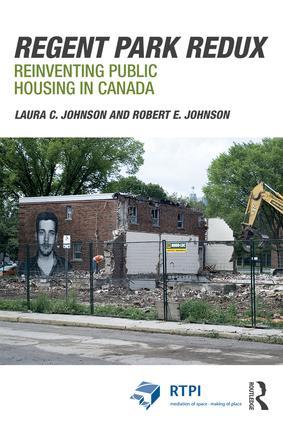 Regent Park Redux: Reinventing Public Housing in Canada book cover