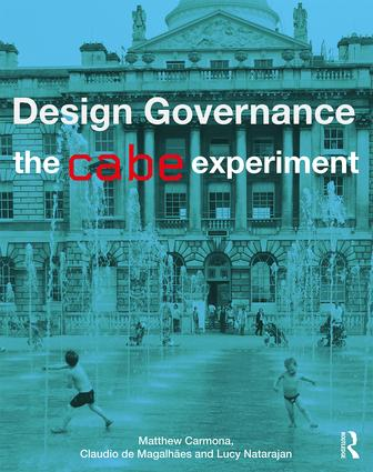 Design Governance: The CABE Experiment book cover