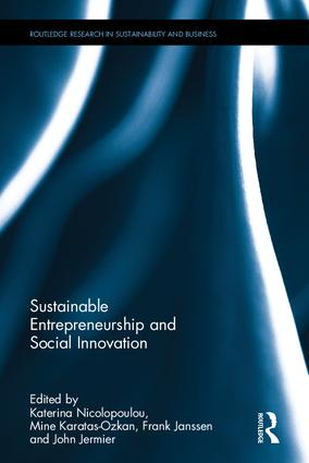 Sustainable Entrepreneurship and Social Innovation book cover